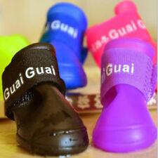 Waterproof Dog Shoes 4pcs/set Colorful Pet Sport Shoes Lovely Portable Pet Boots