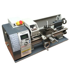 Techtongda Wm210 Metal Lathe Variable Speed Metal Processing Thread Bench Top