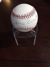 """Chris Evert, """"Autographed"""" (JSA / Witness) Official MLB Baseball (Full Name)"""