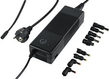 NEW KONIG 150W HIGH EFFICIENCY UNIVERSAL NOTEBOOK POWER ADAPTER, 9 CHARGING TIPS