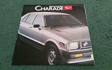 1981 / 1982 DAIHATSU CHARADE UK FOLDER - BROCHURE Hepworth Motor Co Holmfirth