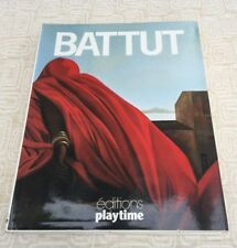 Michele Battut - editions playtime Hardcover Art Book Signed by the Artist 1986