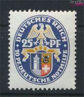 Deutsches Reich 433 postfrisch 1929 Wappen (9146610