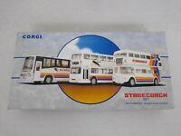 Corgi 97065 Stagecoach Diecast Model Bus Set Limited Edition Free Postage