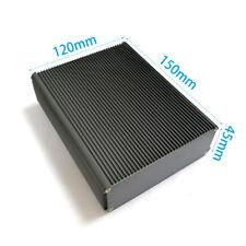 Aluminum shell PCB Aluminum enclosure Chassis heat radiation box 120*45*150mm