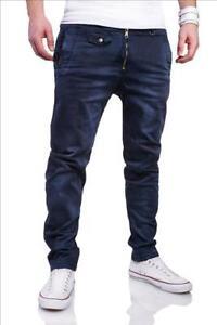 Herren Jeans Stretchjeans Herrenhose Hose Slim Fit dunkelblau