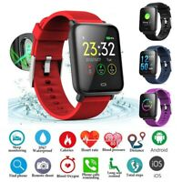 Q9 Smart Watch IP67 Waterproof Blood Pressure Heart Rate Monitor Fitness Trakcer