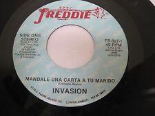 INVASION on  Freddie Records Corpus Christi TEXAS