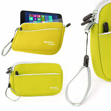 Protective Neoprene Yellow Cover/Case w/ Wrist Strap for LeapFrog LeapPad Glo