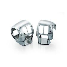 Kuryakyn Chrome switch housing Covers Harley-Davidson FLHT 96-13 7827