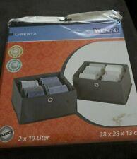 2 WENKO Schubladenorganizer 28x28x13 Schubladenteiler Organizer Box f. Schublade