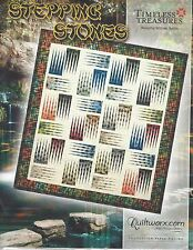 Stepping Stones Foundation Paper Pieced Quilt Pattern by Judy Niemeyer NEW