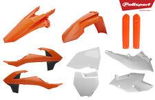 Polisport Plástico Completo Kit + horquillas KTM SX/SXF 2016 - 2017 - 2018 OEM 90750