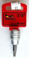 Teng Tools m381504-c Bohreinsatz für int Innensechskant Löcher 1cm Dr.4mm
