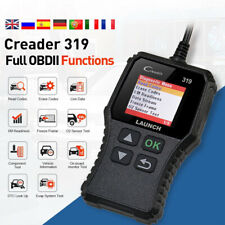 For Jeep Honda Diagnostic Scan Tool OBDII Code Reader Mutil-Language Free Update