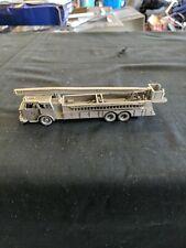 Franklin Mint Pewter American LaFrance Fire Truck
