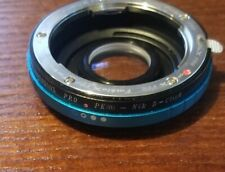 Fotodiox Pro Lens Mount Adapter Pentax E to Nikon F mount