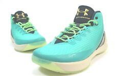New Men's Under Armour SC Size 10 (US) Turquoise Basketball Shoe A20