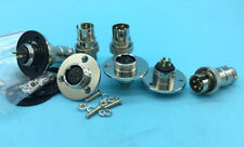 GX16 2-pin 3pin 4-pin 5-pin Aviation Plug Connector M16 Panel Mount Round Flange