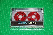 """UNIQUE CUSTOM-MADE """"TEAC""""   RED    NEW BLANK CASSETTE TAPE (1)"""