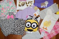 NWT Girls 4 4T Huge 12 Piece Fall Winter Lot CUTE Items ~ L@@K!  GAP TCP CARTER'