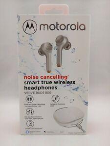Motorola Noise Cancelling Smart True Wireless Headphones Verve Buds 800