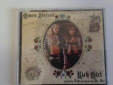 Gwen Stefani - Rich Girl CD Single - feat Eve Produced by Dr Dre (No Doubt)