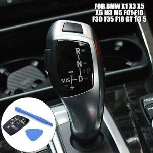 Auto Auto Gear Shift Knob Panel Aufkleber RND Für BMW X1 X3 X5 F01 F10 F30 F35
