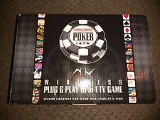 NEW EXCALIBUR WORLD SERIES OF POKER WIRELESS 15 IN 1 PLUG & PLAY TV VIDEO GAME