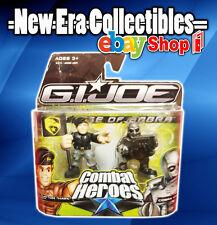 GI Joe The Rise Of Cobra Combat Heroes General Clayton & Cobra Viper Figure Set