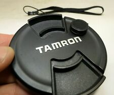 Tamron 72mm Lens Front Cap snap on type with keeper string