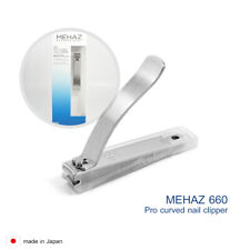 #660 9MC0660 Mehaz Stainless Steel Professional Curved Nail Clipper