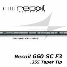 Select Shaft Set - UST Recoil 660 F3 SC Smoke Chrome R Flex 355 Taper Tip