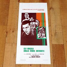 GLI ANGELI DALLE MANI BENDATE locandina poster Brazzi Webley Mitri Masino O101