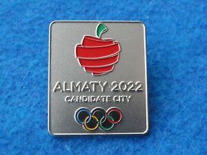 Olympic Bid  Almaty 2022  Candidate City Pin Badge