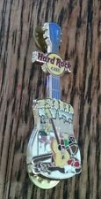 HARD ROCK CAFE HRC MADRID GUITAR COLLECTIBLE PIN RARE /LE AUTHENTIC