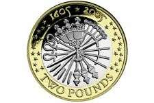 £2 Coin Guy Fawkes 1605-2005 - Rare - Collectable - The Fifth Of November