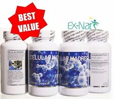 2 CELULAS MADRES 120 CAP Support Bacterium CURE Bioxtron Control Bioxcell CURE