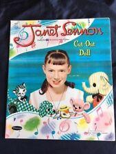 VINTAGE/ORIGINAL1958  Janet Lennon Cut-Out Doll, Whitman, EXCELLENT CONDITION