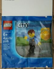 LEGO City Chase McCain Mini Figure Poly Bag 5000281 WiiU Information Card