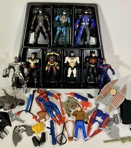 Vintage DC Comics Kenner Lot 1990s Batman Weapons Accessories Carrying Case