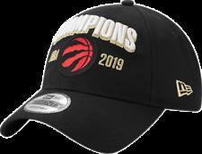 Toronto Raptors New Era Black 2019 NBA Finals Champions Locker Room 9Twenty Hat