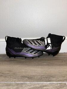 Adidas Adizero 8.0 SK Football Cleats Metallic/Gray D97030 SZ 13.