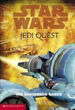 Star Wars Jedi Quest 3 The Dangerous Games Jude Watson 2002 VG Cond