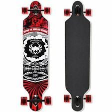 New listing Longboard Skateboard Downhill Skateboard Through Deck 8-Layer Maple 41 Inch New