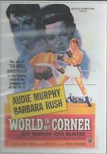 WORLD IN MY CORNER & JOE BUTTERFLY -  AUDIE MURPHY 2 FULL MOVIES ALL REGION DVD