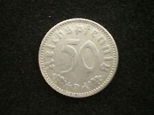 50 Reichspfennig 1940 D, ss