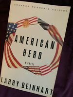 American Hero ADVANCED READERS 1993 edition  paperback book, free shipping