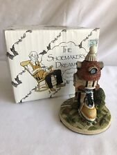 David Winter Cottages Shoemakers Dream Lot Of 3