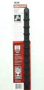 "Craftsman Socket Rack for 1/4"" Drive Organizer Tool Holder Rail Set 941843"